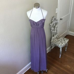 Amsale Silk Chiffon Gown Size 0